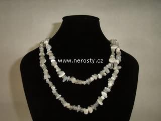měsíční kámen + náhrdelník