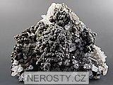 pyrit, chalkopyrit, křemen