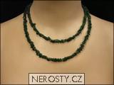 avanturín,náhrdelník sekaný
