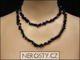 onyx,náhrdelník sekaný