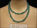 apatit,náhrdelník sekaný