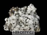 kalcit, , pyrit, arzenopyrit