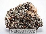 goethit, fluorit, pyrit