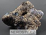 goethit, siderit, fluorit