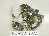 arzenopyrit,kalcit