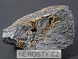manganokalcit, , pyrit