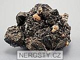 pyrit, manganokalcit