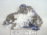 pyrit, manganokalcit, galenit