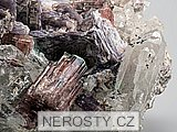 rubelit, lepidolit