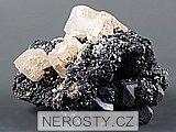 manganokalcit,sfalerit