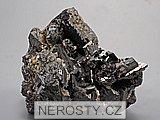 ferberit, arzenopyrit, siderit