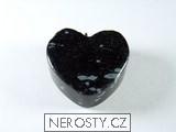 vločkový obsidián,srdce