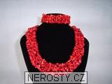 korál,náhrdelník
