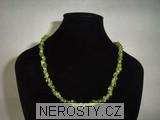 olivín,náhrdelník
