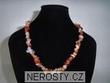 karneol,náhrdelník