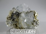 akvamarín, muskovit