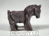 kůň,kalcit