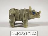 nosorožec,kalcit