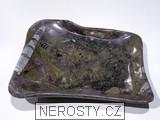 mramor s fosíliemi, mísa volný tvar