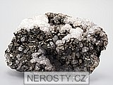 arzenopyrit, , kalcit