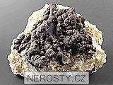 goethit, limonit, fluorit, pyrit