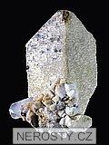 mikroklin, albit