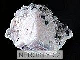 manganokalcit, sfalerit