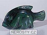 malachit, ryba