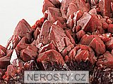 křemen (červený), ametyst