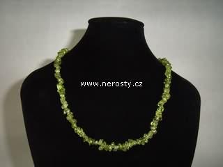 olivín + náhrdelník