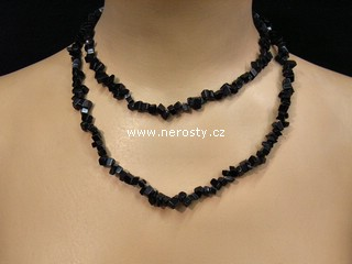 onyx + náhrdelník sekaný