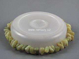 opál zelený + náramek