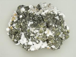 pyrit + chalkopyrit
