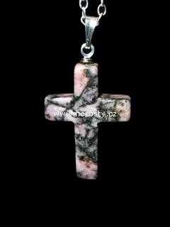 rodonit + křížek
