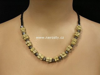 sahara náhrdelník + korálky