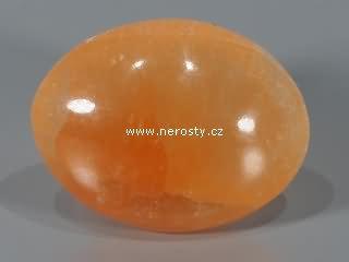 selenit + oranžový + hmatka