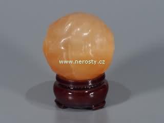 selenit + oranžový + koule