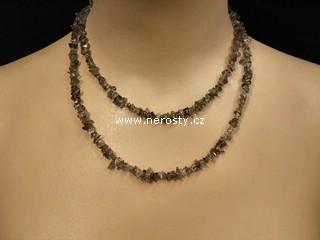 záhněda + náhrdelník sekaný